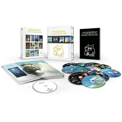 The Collected Works of Hayao Miyazaki Blu-ray 12Disc Box Set Complete New Sealed