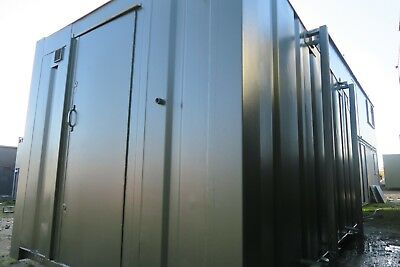 16x9 Ft Anti Vandal Shower Block . 4 shoer cubicles. 2 rooms. Camp site