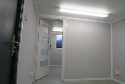 32x10 ft (10x3m) Anti Vandal. Double Office. Portable Site Canteen Container