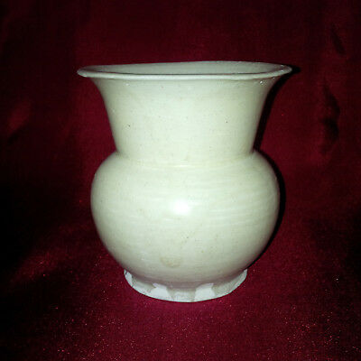 Chinese Antique  White Qingbai Small Baluster Vase