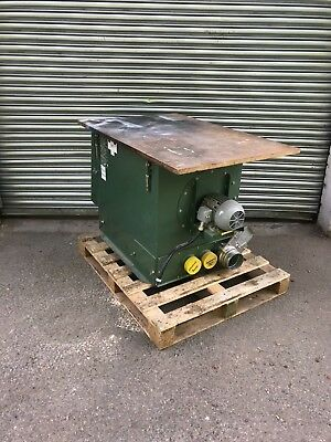 P&j 2.5 Table Saw Outfeed Table Extractor 3 phase LEV unit
