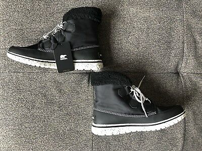 2fa786148238 SOREL COZY CARNIVAL WOMEN S CURRY BLACK WATERPROOF BOOTS sz 10.5 ...