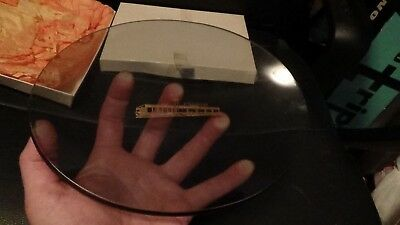 Vintage ERIE TIMES-NEWS Newspaper Advertising Glass Dish Tray Erie, PA 1960's