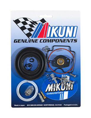 JUST RELEASED! Genuine Mikuni Carb Kit 2002-2008 Yamaha Grizzley 660 MK-BSR42-10