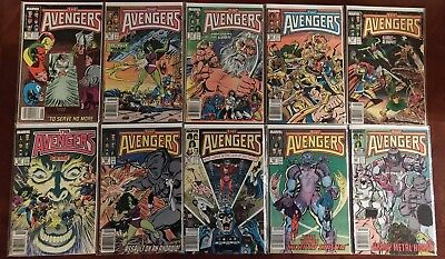 Marvel Comics Avengers #280 281 282 283 284 285 286 287 288 289 Comic Book Lot