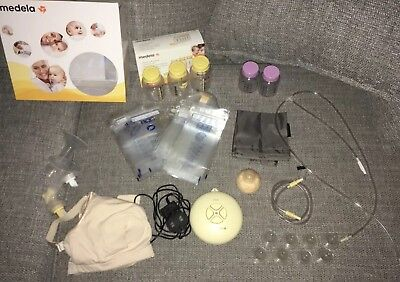 Medela swing electric breast pump (double or single) Massive bundle with Extras