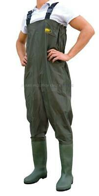Stivale Scafandro Waders In Polyestere Size 44 Polyester Chest Wader