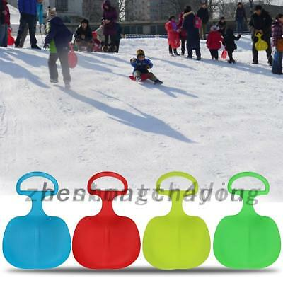 Outdoor Plastic Skiing Boards Sled Luge Snow Grass Sand Board Adult Play Tools