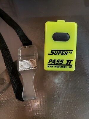 5 Super Pass Ii Grace Industries Scba Alarms Great Working Condition!!!