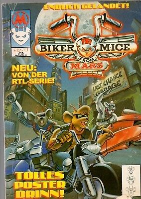 1x Comic Softcover: Biker Mice - #1