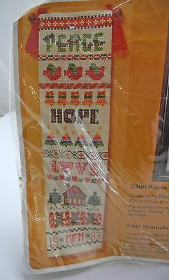 The Creative Circle Symbols of the Season Personalized Bell Pull Kit-#2401 New