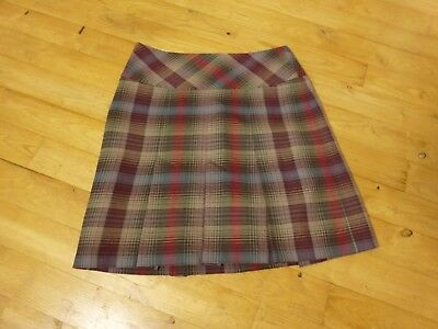 Really Wild size 8 Brown wool skirt