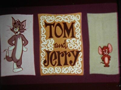 16 mm film tom n jerry cartoon mucho mouse colour sound good