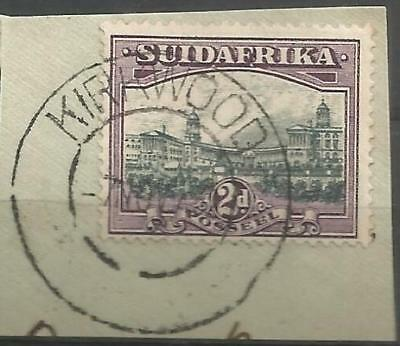 Union of South Africa Postmark Kirkwood Cape on small piece