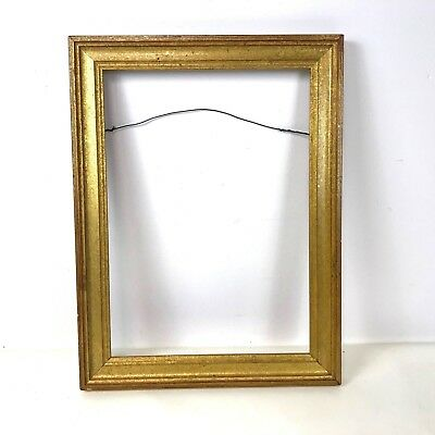 """Small Gilded Frame 10"""" x 14"""""""