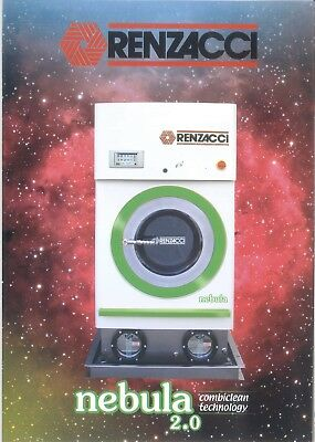 Renzacci  Alternative Solvent Drycleaning Machine 2018 Brand New Free Shipping