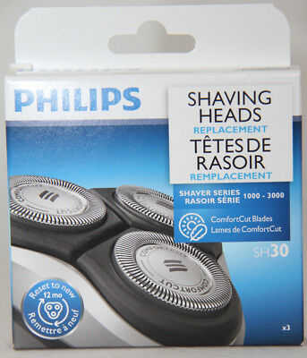 Philips SH30 Shaving Heads - Replaces 1000-3000 Series Head TAX INCLUDED