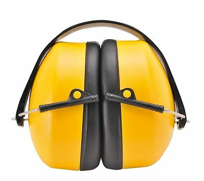 Portwest Super Ear Protector Muffs Plugs Safety Fold Up Protection Work PW41