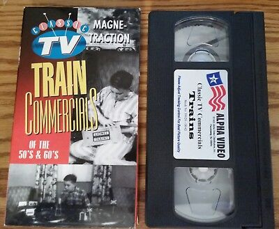 TV Train Commercials 0f the 50s & 60s -VHS Tape - American Flyer, Lionel