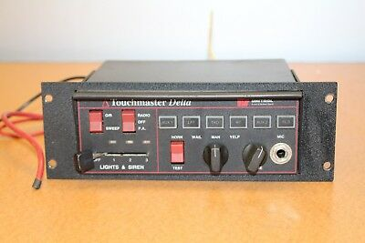 Federal Signal Unitrol Touchmaster Delta Public Addess amplifier