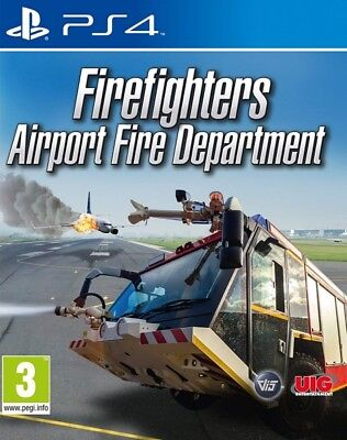 Firefighters Airport Fire Department PS4 * NEW SEALED PAL *