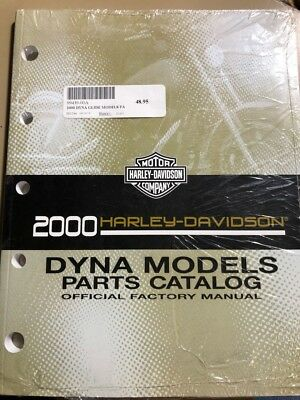 Harley Davidson 2000 Dyna Models Parts Catalog Official Factory Manual 99439-00A