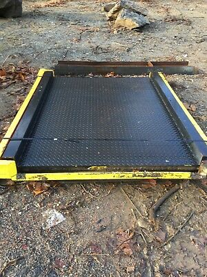 Mettlar Todelo Drive on Forklift Freight Scale 75 x 90 5 x 7 foot WE SHIP!