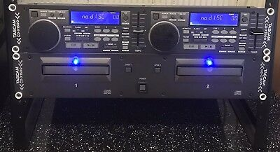 Tascam CD-X1500 Professional Dual DJ CD Player Rack Mount + Controller