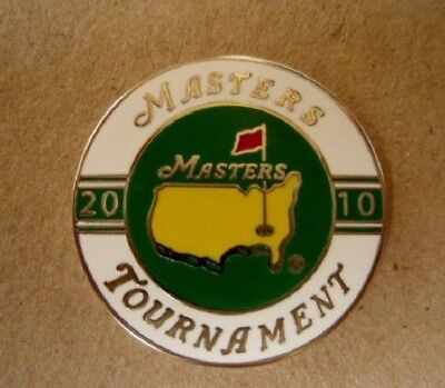 "2010 Us Masters (Phil Mickelson's Last Masters Title) 1"" Coin  Golf Ball Marker"