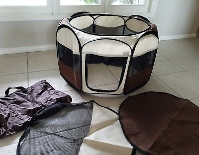 Baby Play Tents Folding Portable Playpen Travel Indoor Outdoor Safety Mesh