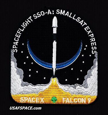 NEW SSO-A SMALLSAT EXPRESS- SPACEX FALCON 9- VAFB Launch- ORIGINAL Mission PATCH