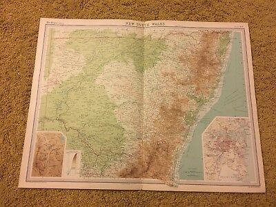 old world atlas Plate Map New South Wales