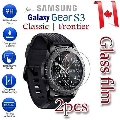2X Tempered Glass Screen Protector For Samsung Galaxy Gear S3 Classic | Frontier