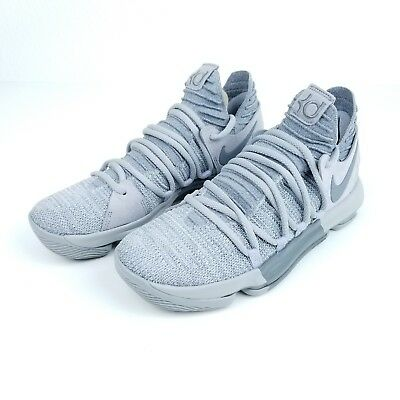 buy popular eace7 09f0b Nike Zoom KD10 Men s Basketball Shoes Size 8-9 Wolf Grey Gray 897815 007  Durant