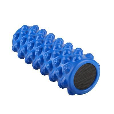 Blue Foam Roller Yoga Grid Trigger Point Massage Pilates Physio Gym Exercise