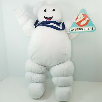 "VINTAGE 1984 ORIGINAL GHOSTBUSTERS Stay Puft Marshmallow Man 18"" Plush"
