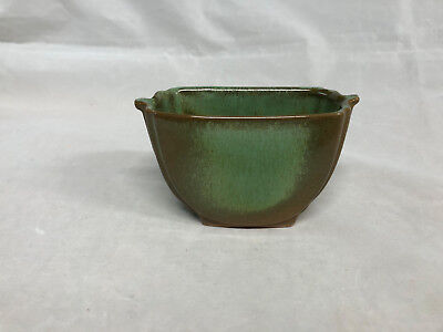 Frankoma #42A Sugar Dish in Prairie Green