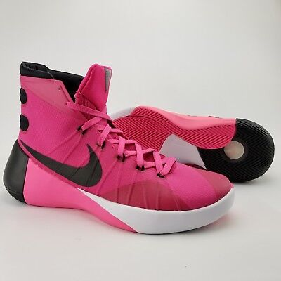 online store 11c4c 54c41 ... discount new nike hyperdunk 2015 pink breast cancer think pink 749561 606  mens size 9 6f723