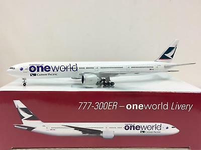 Herpa Wings Cathay Pacific Boeing 777-300ER One World Livery 1:500 B-KPL