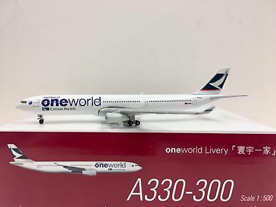 Herpa Wings Cathay Pacific A330-300 One World 1:500 B-HLU