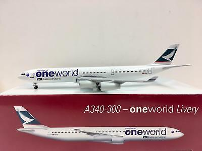 Herpa Wings Cathay Pacific A340-300 One World 1:500 B-HXG