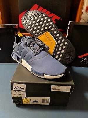 new product 6156b bc52c Adidas Men s NMD R1 TECH INK Running Shoes Blue S31514 SIZE 11 NEW RARE