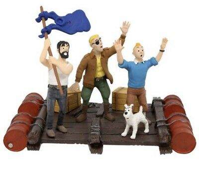 Coffret figurines Tintin Coke en Stock Moulinsart