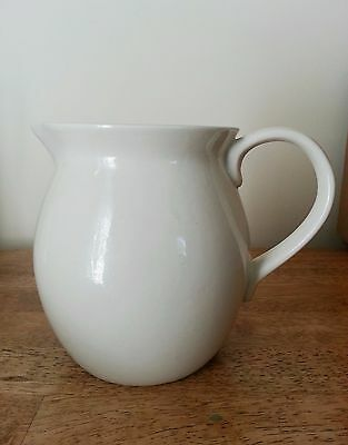 CHARMING Stout Cream Ceramic Pitcher 6 inches