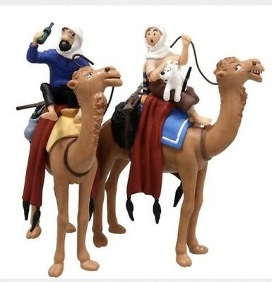 Coffret figurines Tintin Le Crabe aux pinces d'or Moulinsart