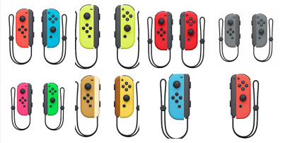 Official Nintendo Switch Joy-Con Left/Right Controllers Gray Red Blue pink green