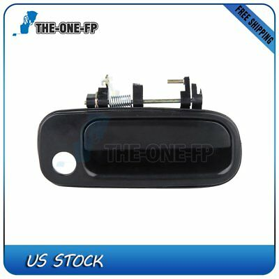 Fit 92-96 Toyota Camry Exterior Outside Door Handle Front Right Passenger Black
