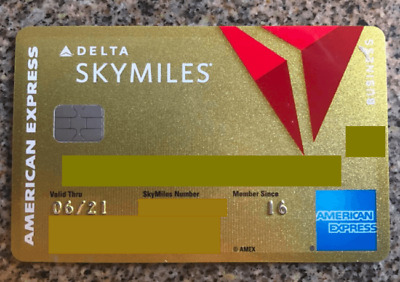 American Express REFERRAL GOLD DELTA 50000 PONTS
