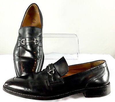 90578242368 Cole Haan Martino Dress Loafers Mens Size 11.5 M Black Horse Bit Slip On  c06843
