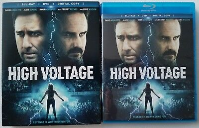 High Voltage Blu Ray Dvd 2 Disc Set + Slipcover Sleeve Free Worldwide Shipping
